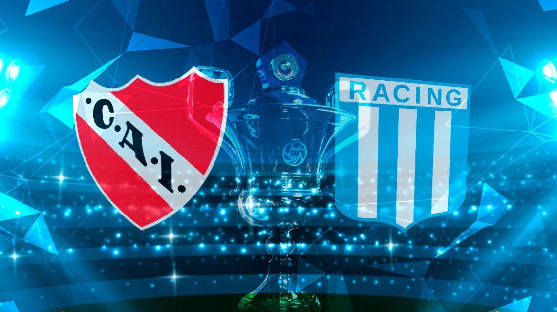 Racing le ganó a Independiente en el Libertadores de América y se afianza en la punta