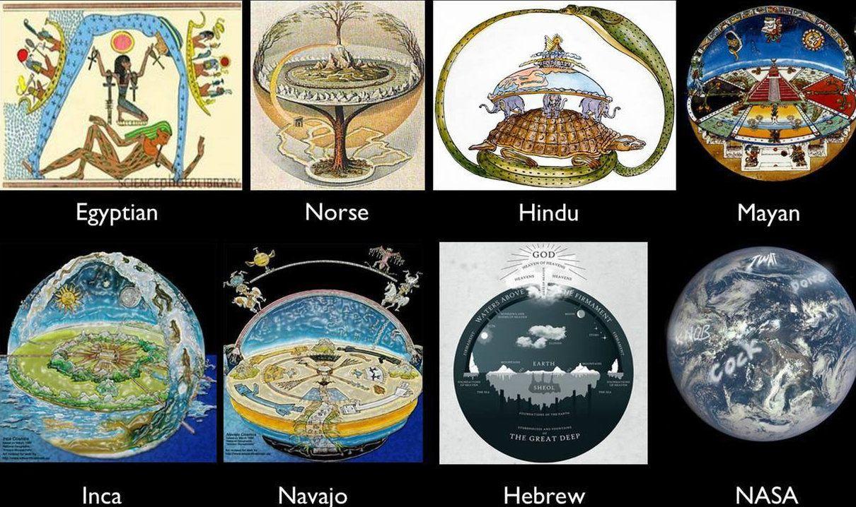 ¿Qué tiene en la cabeza un terraplanista? Los que creen que la Tierra es plana