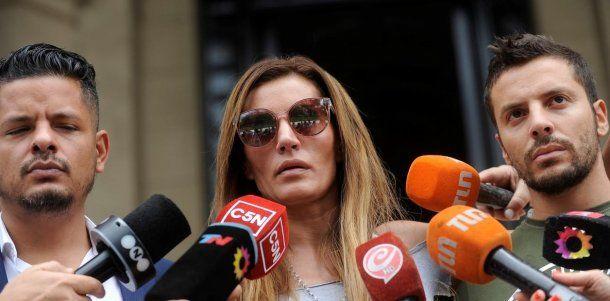 Natacha Jaitt en Tribunales<br>