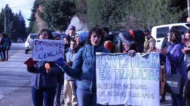 Becarios Conicet exigen recomposición salarial. Foto: Facebook. <div><div></div></div>