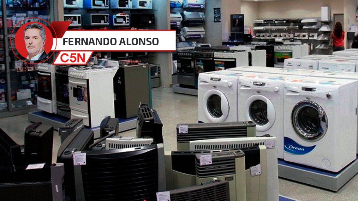 Mientras Macri piensa en importar desde Vietnam, la venta de electrodomésticos se desplomó 33,8%