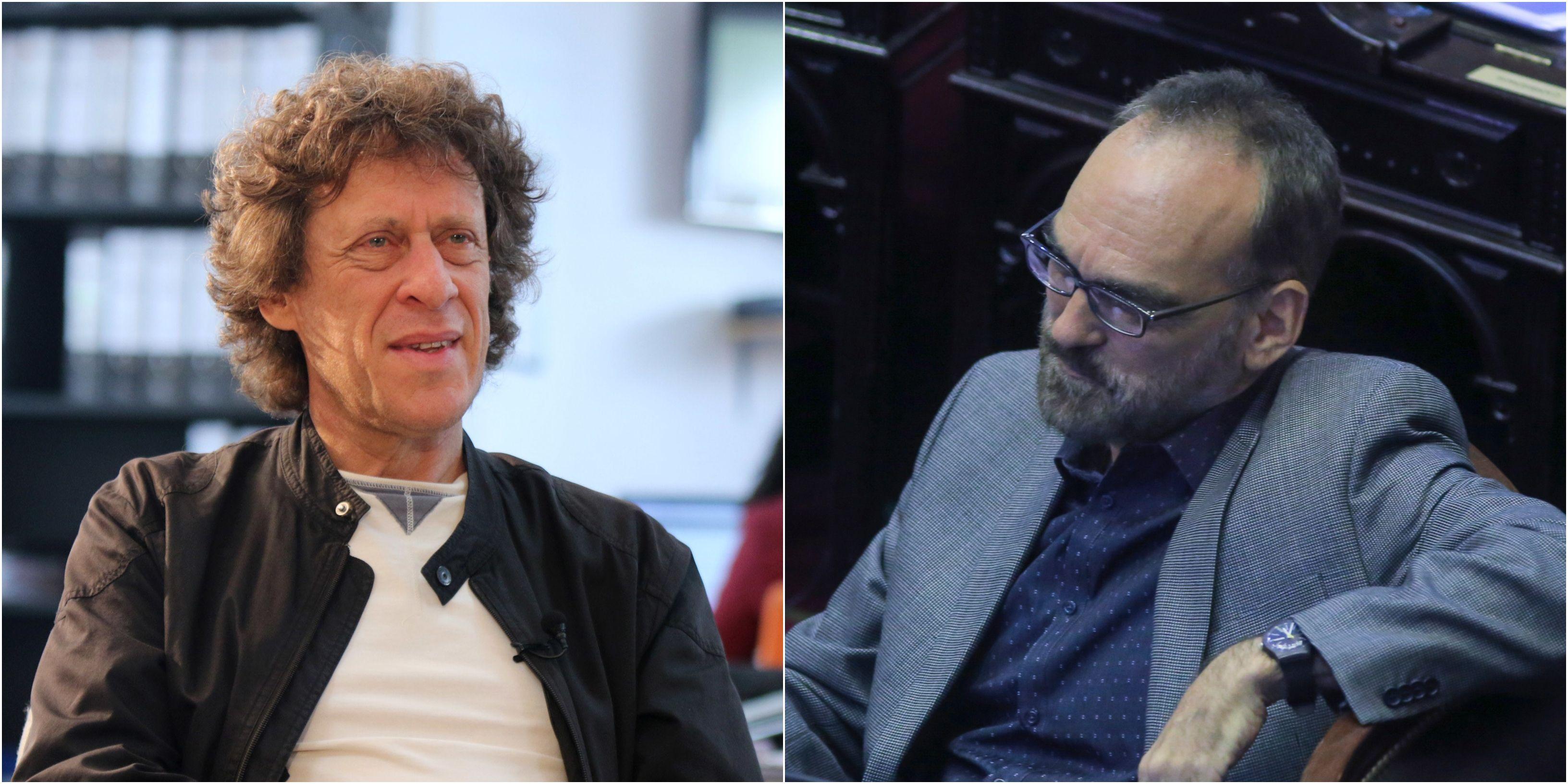 Pedro Brieger y Fernando Iglesias