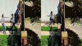 Intentaron robar su casa y los echó a golpes
