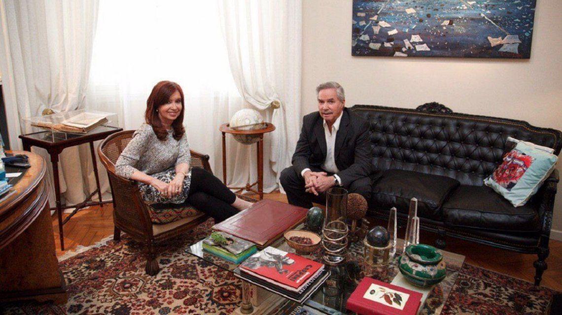 Cristina Kirchner y Felipe Solá