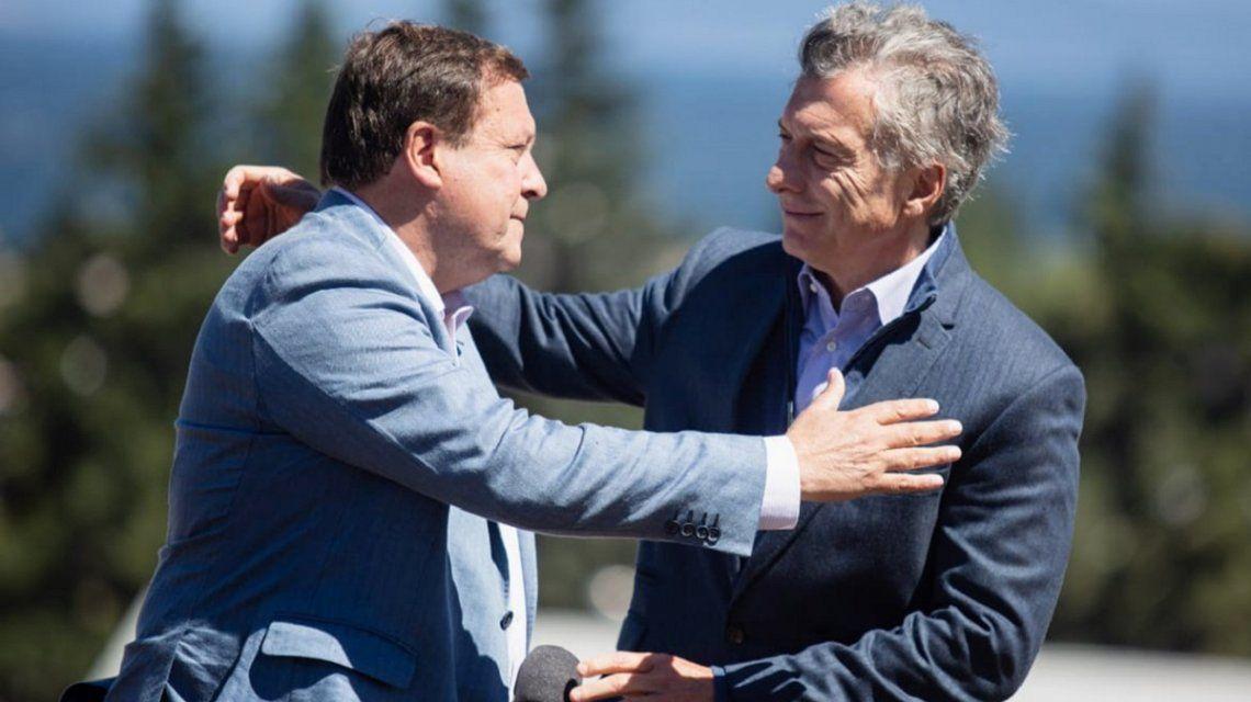 Alberto Weretilneck y Mauricio Macri