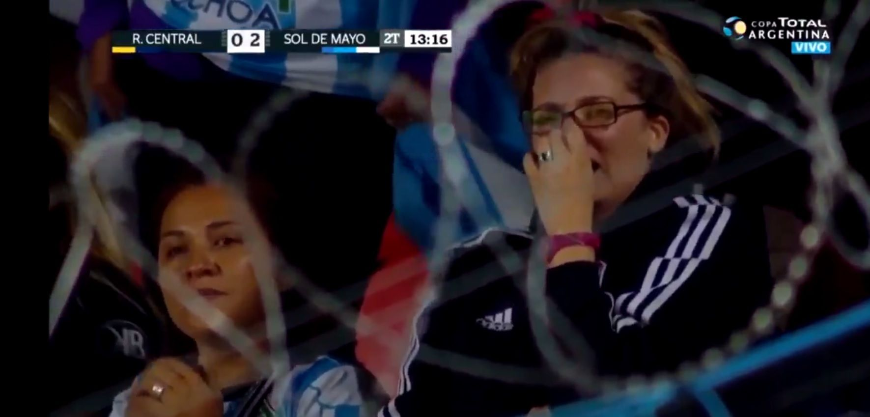 Copa Argentina: la emoción de los hinchas de Sol de Mayo luego de eliminar a Rosario Central