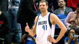 NBA: el emotivo homenaje de Doc Rivers a Dirk Nowitzki
