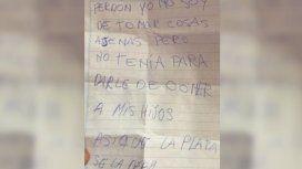 Un ladrón pidió disculpas por robar una billetera: No tenía para darle de comer a mis hijos