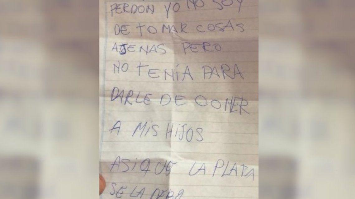 Casilda: un ladrón pidió disculpas por robar una billetera