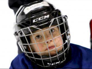 video: la practica de hockey sobre hielo de un nene de 4 anos que se viralizo