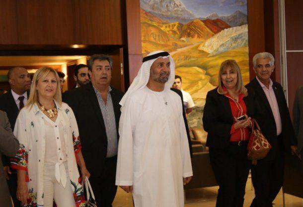 <p>Ahmed Bin Mohammed Al Jarwan, presidente del Consejo Mundial para la Tolerancia y la Paz</p>