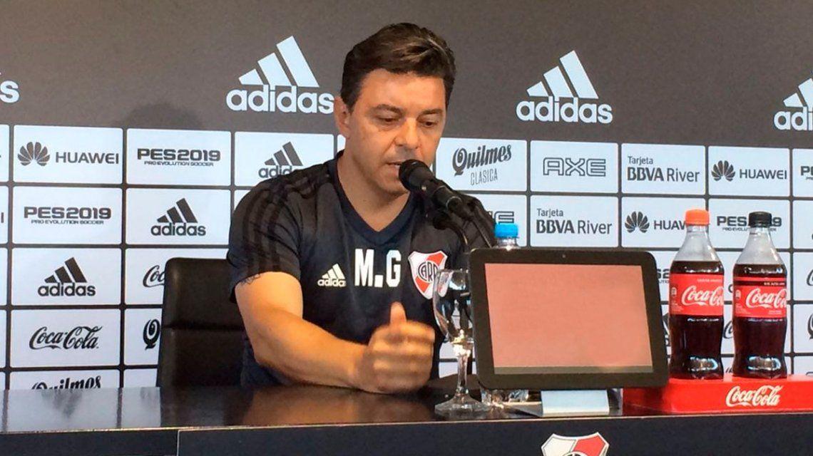 Gallardo habló de la crisis económica para recordar el triunfo de la Copa Libertadores