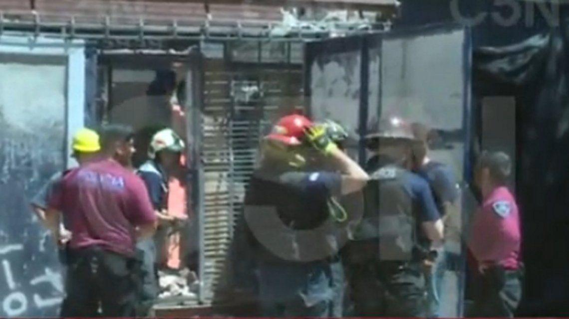 Se derrumbó una obra en construcción en Palermo: hay un herido