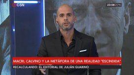 El Vizconde Demediado: Macri, Calvino y la metáfora de una realidad escindida
