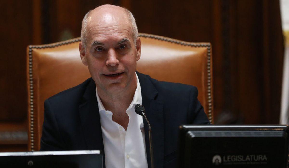 Legislatura porteña: Larreta habló de la crisis económica que atraviesa el país