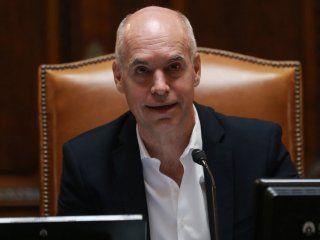 legislatura portena: larreta hablo de la crisis economica que atraviesa el pais