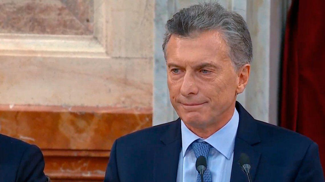 Tras el discurso de Macri, el Gobierno envió el proyecto para bajar la edad de imputabilidad