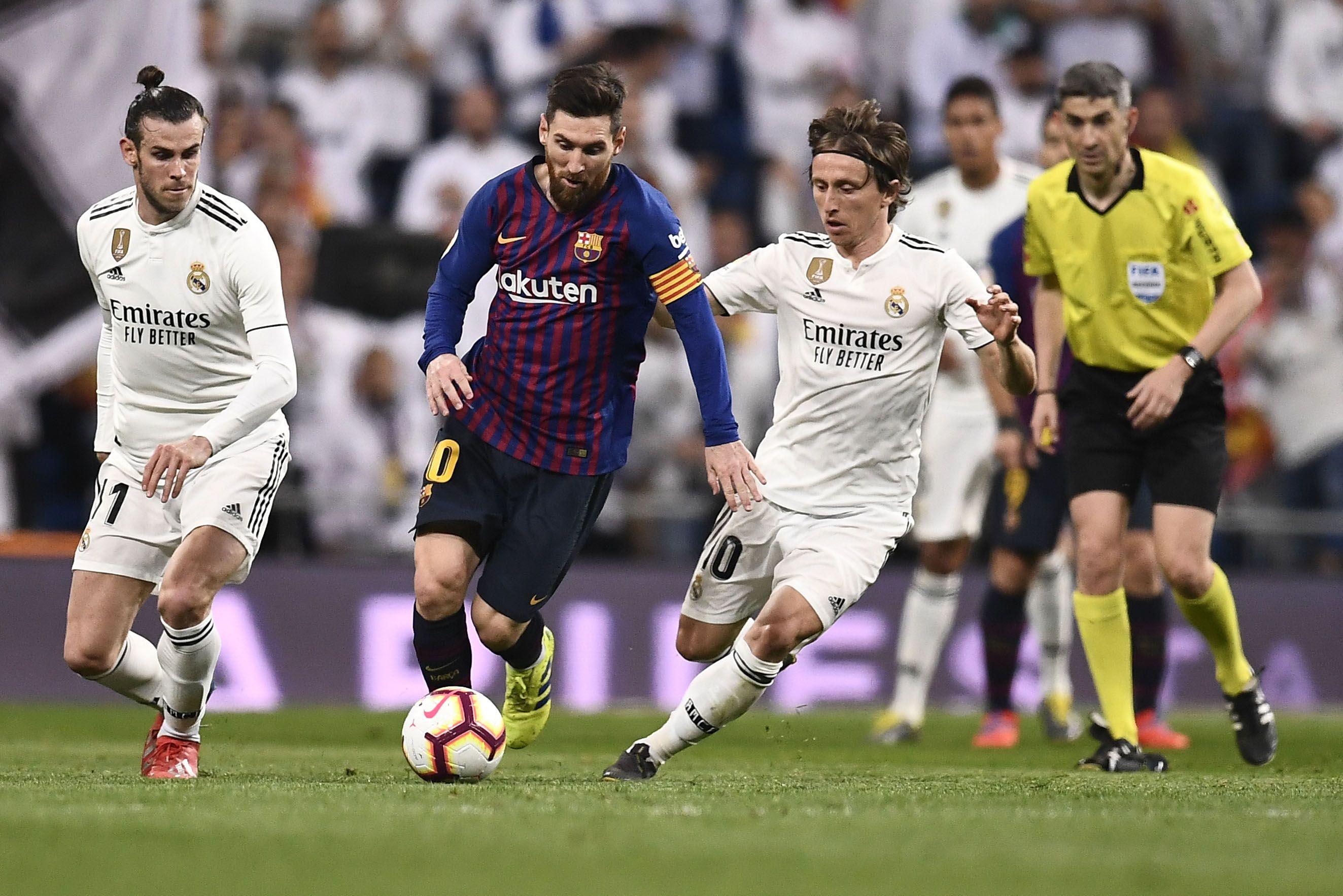 Messi supera la marca de Modric
