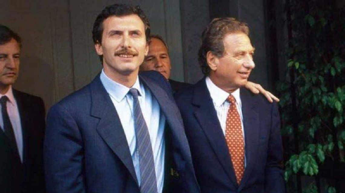 Mauricio Macri y Franco Macri