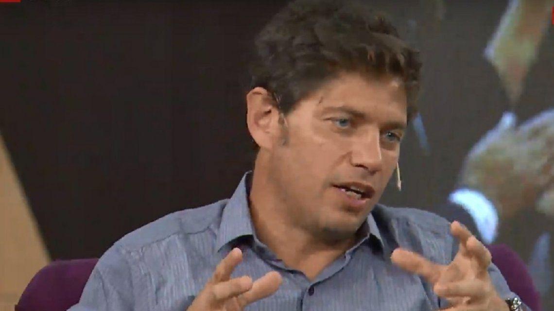 Kicillof aseguró que hay inversores muy preocupados por la impericia de Macri