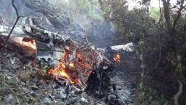 Una avioneta con dos ocupantes se estrelló en Córdoba