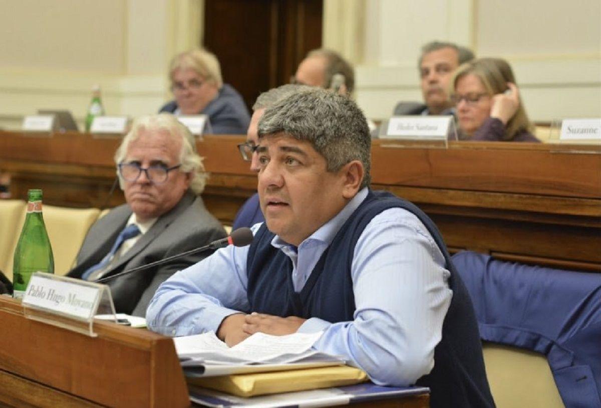 Pablo Moyano, desde el Vaticano: El gobierno inclina la balanza a favor del más fuerte