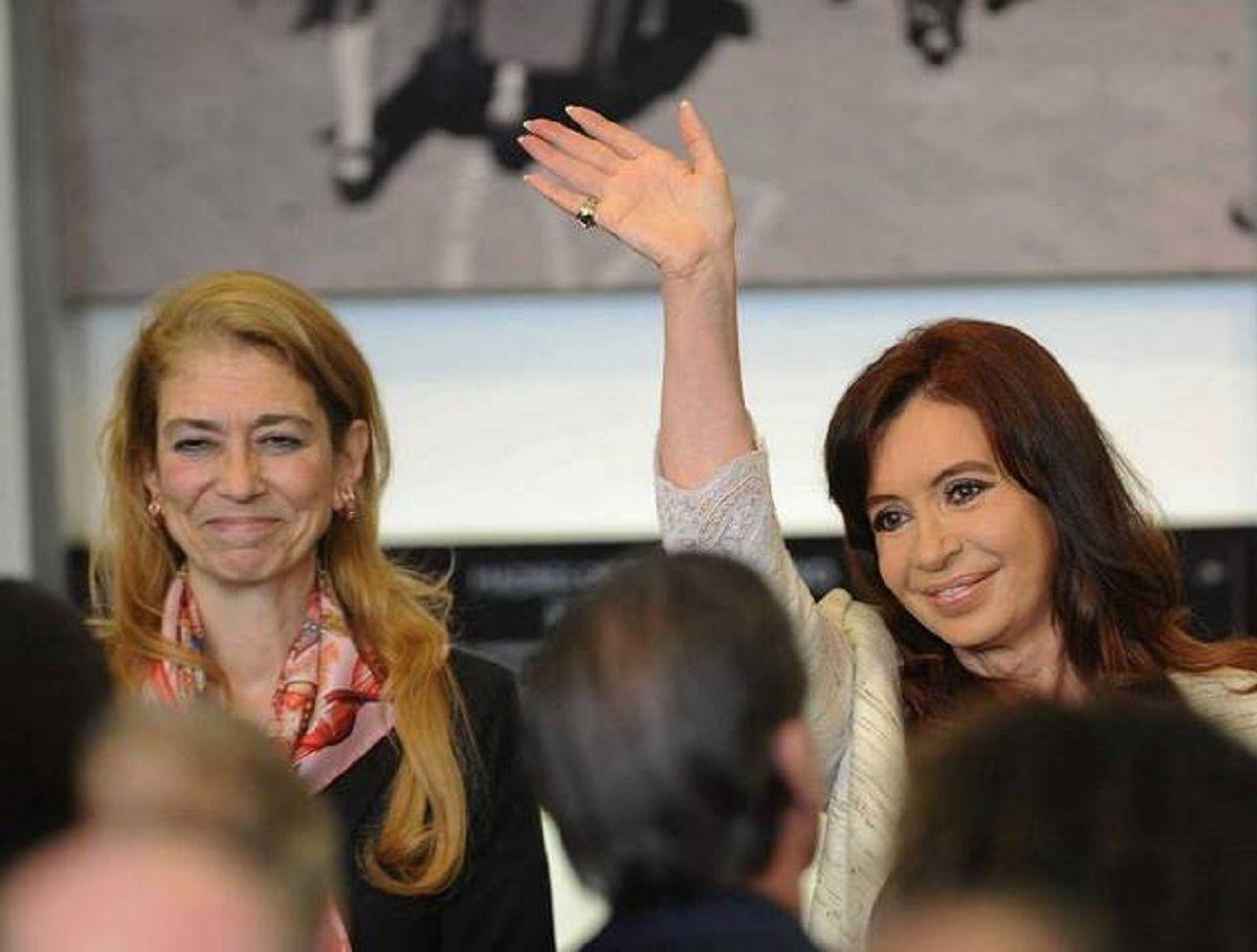 Débora Giorgi y Cristina Kirchner