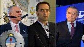 Alejandro Bulgheroni, Marcos Galperín y Eduardo Eurnekian