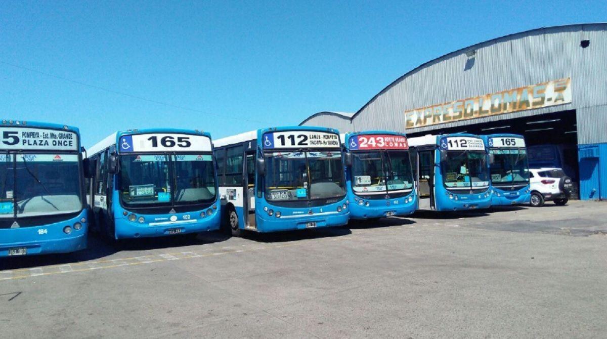 Paro de colectivos: las líneas 112, 165 y 243 brindan un servicio reducido