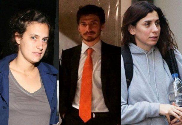 Agustina, Francisco y Gimena Macri