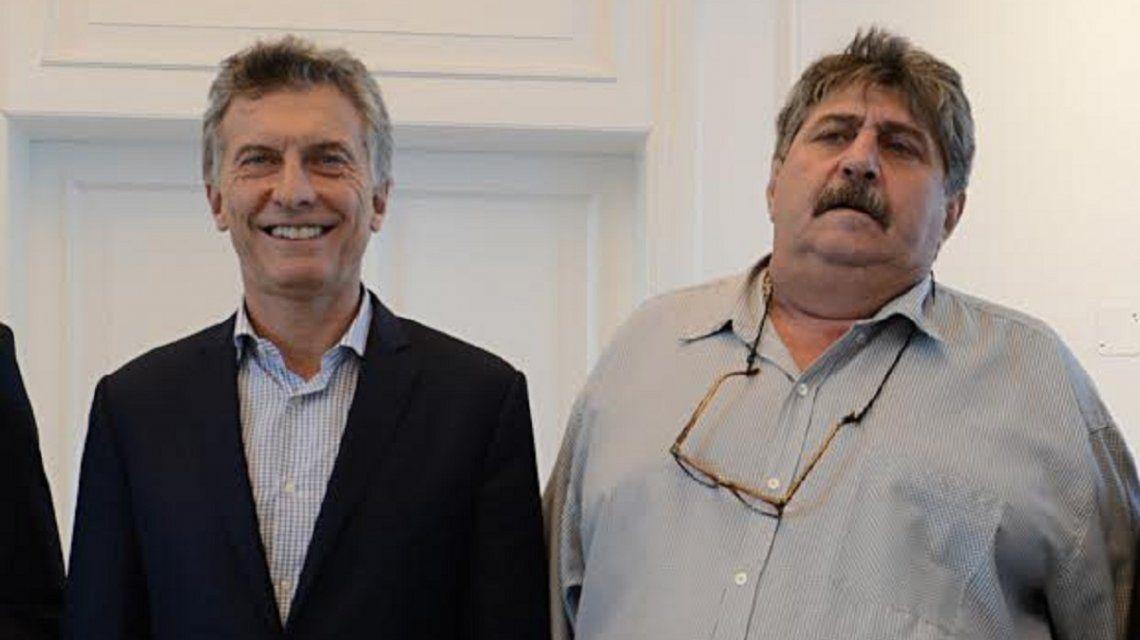 Mauricio Macri y Ricardo Pignanelli