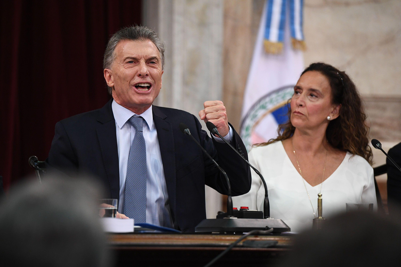 Mauricio Macri en la Apertura de las Sesiones Ordinarias del Congreso Nacional