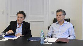 Nicolás Dujovne y Mauricio Macri