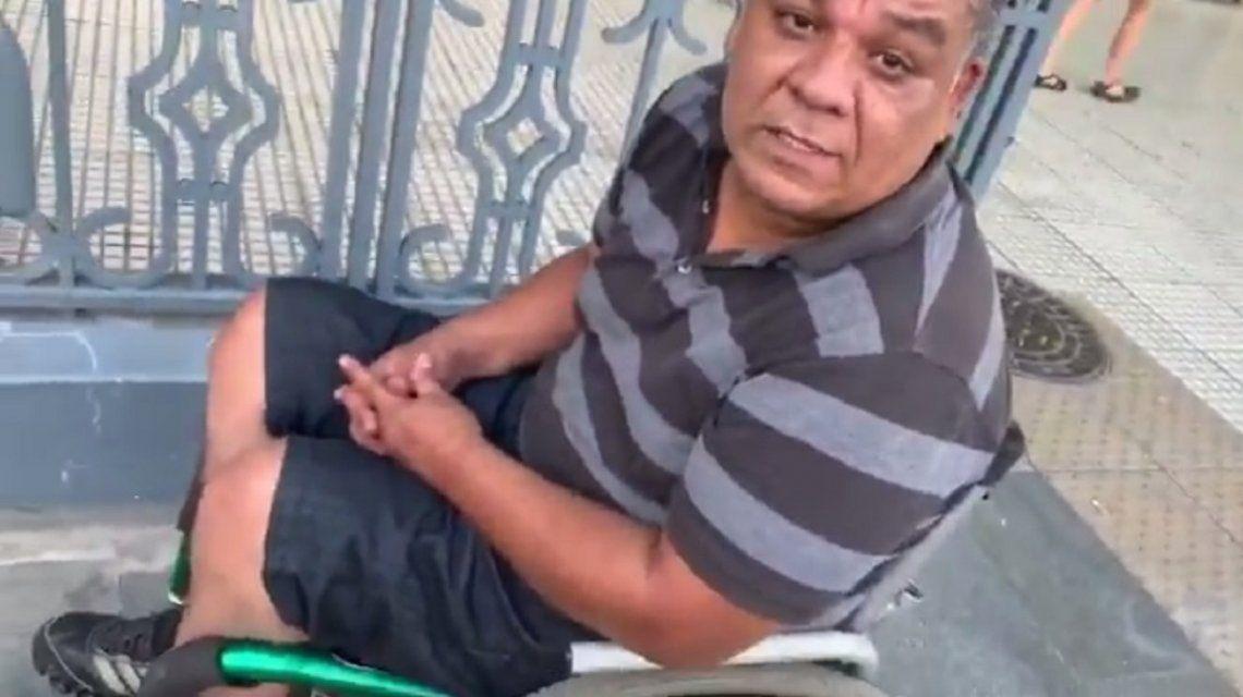 Una rampa para Gustavo: es discapacitado y la necesita para trabajar