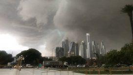 Tormenta en Buenos Aires - Crédito:@ComandoCarolita
