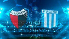 Racing defiende la punta en su visita a un Colón de Santa Fe convulsionado