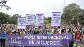 Masivas marchas por el Día Internacional de la Mujer en todo el país