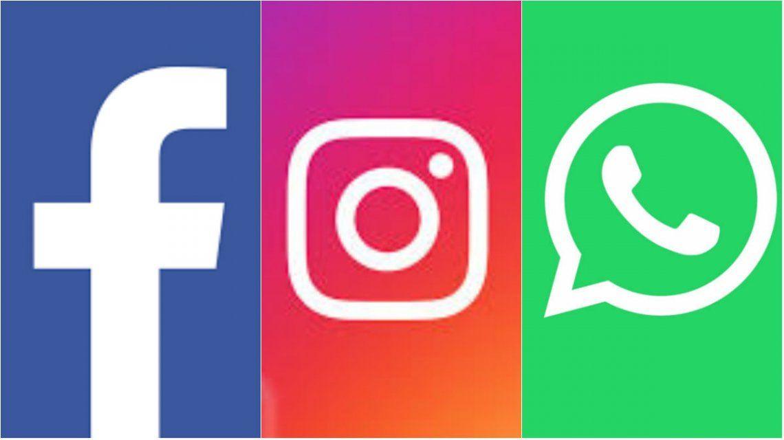 Facebook, Instagram y WhatsApp tuvieron problemas en todo el mundo