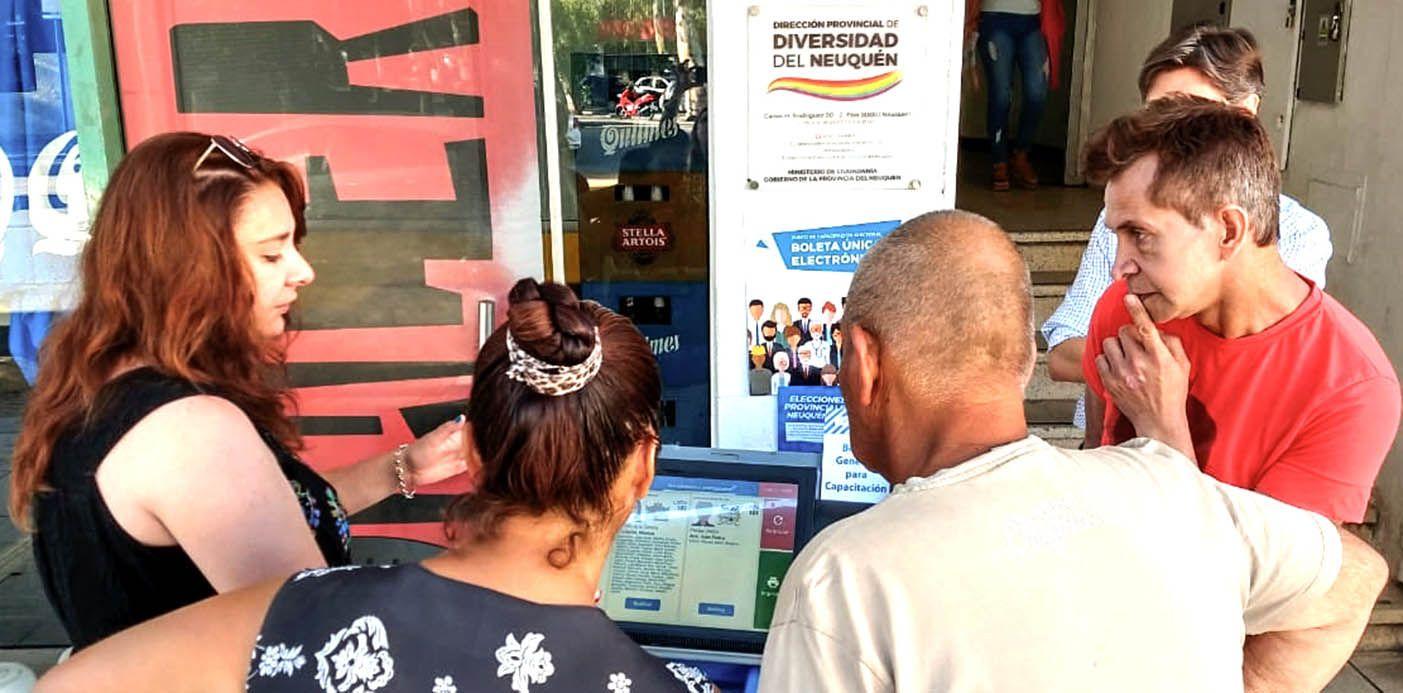 Unidad Ciudadana denunció irregularidades con la Boleta Única Electrónica en Neuquén