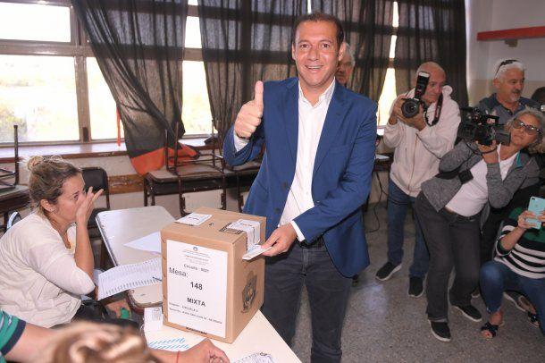 Omar Gutiérrez,gobernador de Neuquén