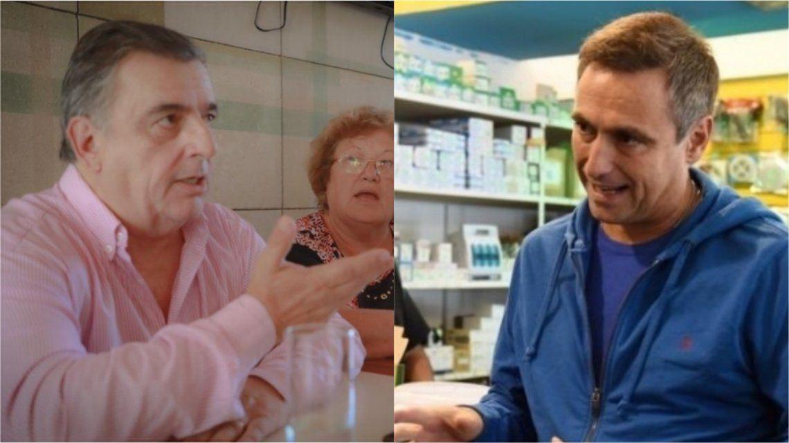 Mario Negri y Ramón Mestre en la interna de Cambiemos
