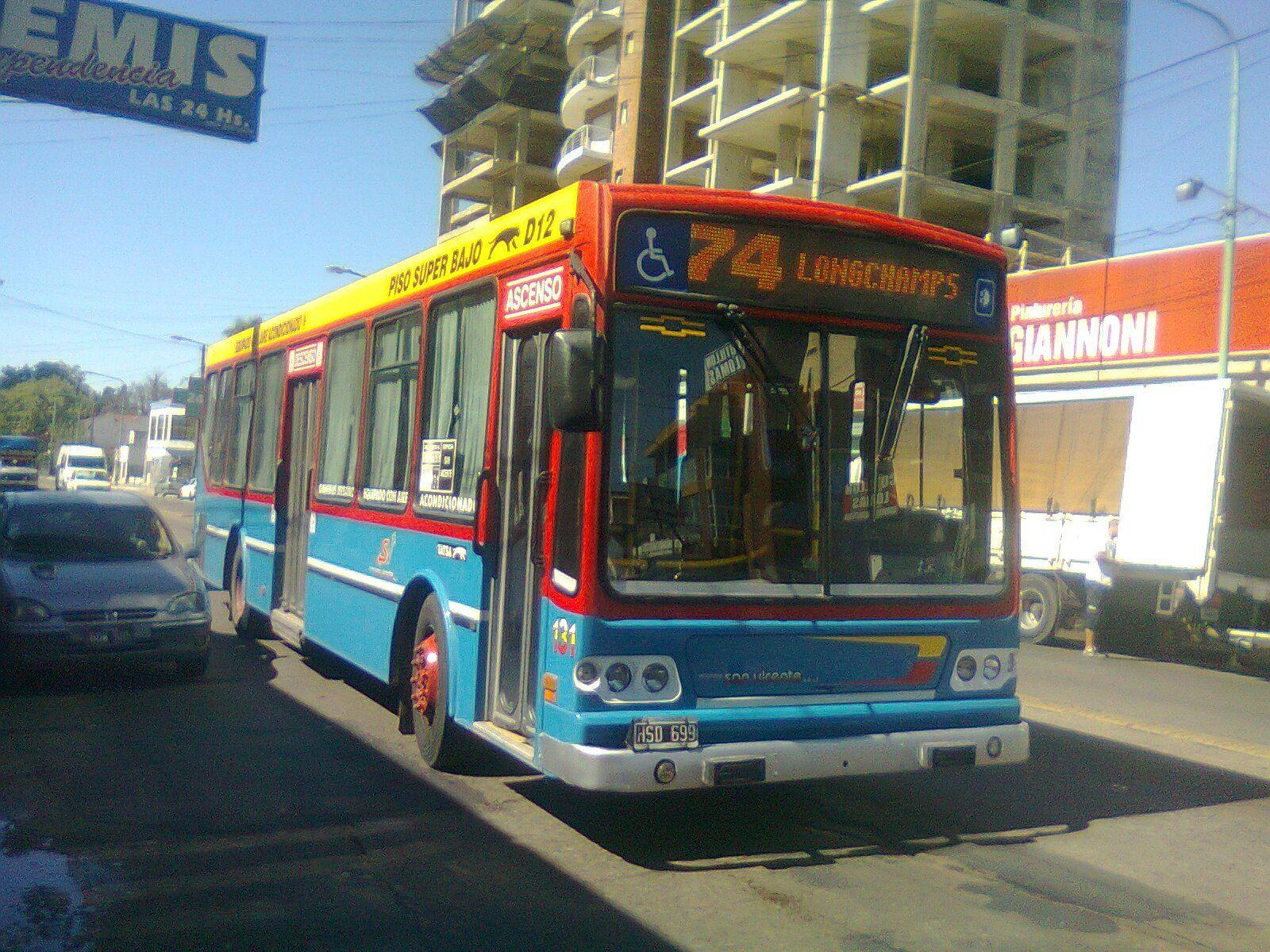 Longchamps: la línea 74 redujo su servicio y sólo llega a Burzaco