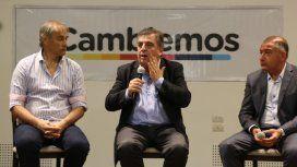 Héctor Baldassi, Mario Negri y Luis Juez
