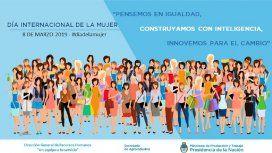 El Gobierno difundió otra imagen discriminatoria por el Día de la Mujer