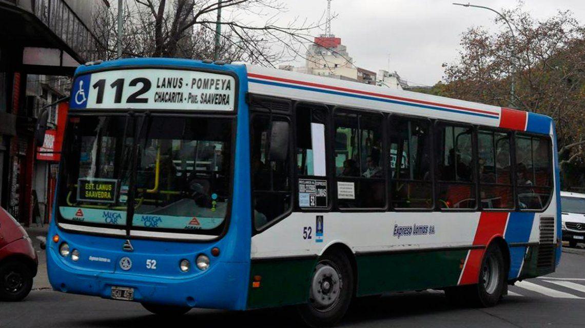 Paro de colectivos: por falta de unidades, no funcionan las líneas 112, 165 y 243