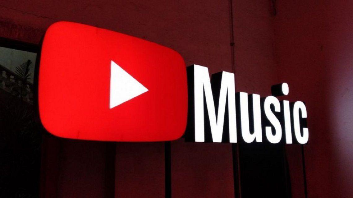 YouTube Music llegó a la Argentina