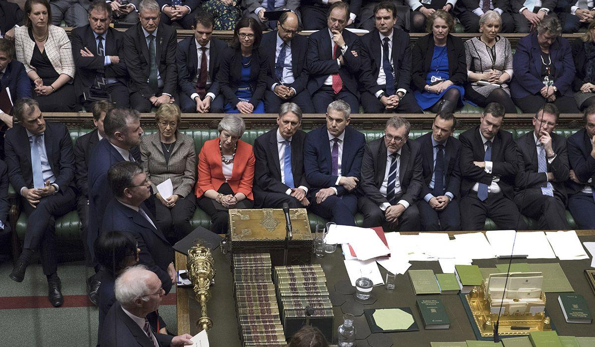 El Parlamento británico votó en contra de un Brexit sin acuerdo con la UE