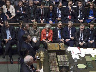 el parlamento britanico voto en contra de un brexit sin acuerdo con la ue