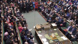 El Parlamento británico rechazó la celebración de un segundo referéndum del Brexit