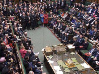 el parlamento britanico rechazo la celebracion de un segundo referendum del brexit